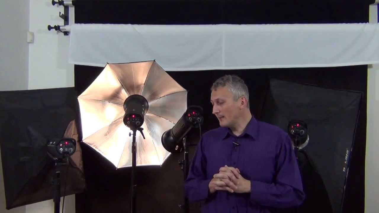 basic studio lighting strobes continuous lighting flash gun power comparison - YouTube  sc 1 st  YouTube & basic studio lighting strobes continuous lighting flash gun ... azcodes.com