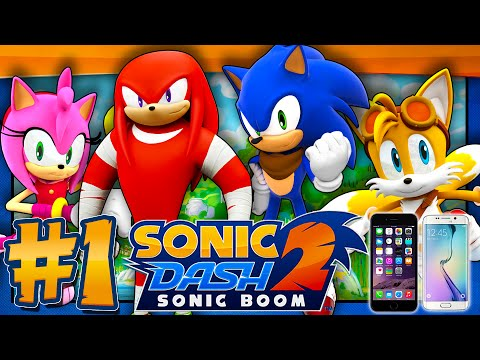 Sonic Dash 2: Sonic Boom - Part 1 (IOS, Android)