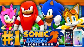 Sonic Dash 2: Sonic Boom - Part 1 (IOS, Android)(Time for a little showcase video on another Sonic mobile game and that is Sonic Dash 2: Sonic Boom!...and it's the best game out of the boom series LMAO If ..., 2015-10-18T17:22:17.000Z)