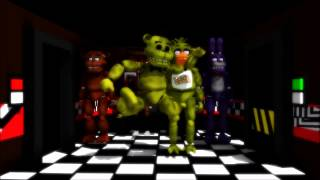 [MMD FNAF]Five Nigths at Freddy