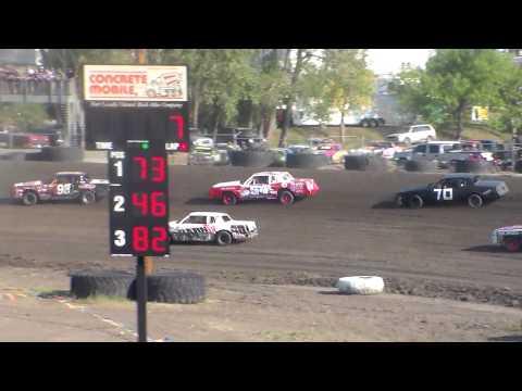 Nodak Speedway IMCA Hobby Stock Heats (Motor Magic Night #1) (9/2/17)