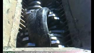 Дробление резины, переработка шин.(, 2012-03-13T06:11:34.000Z)