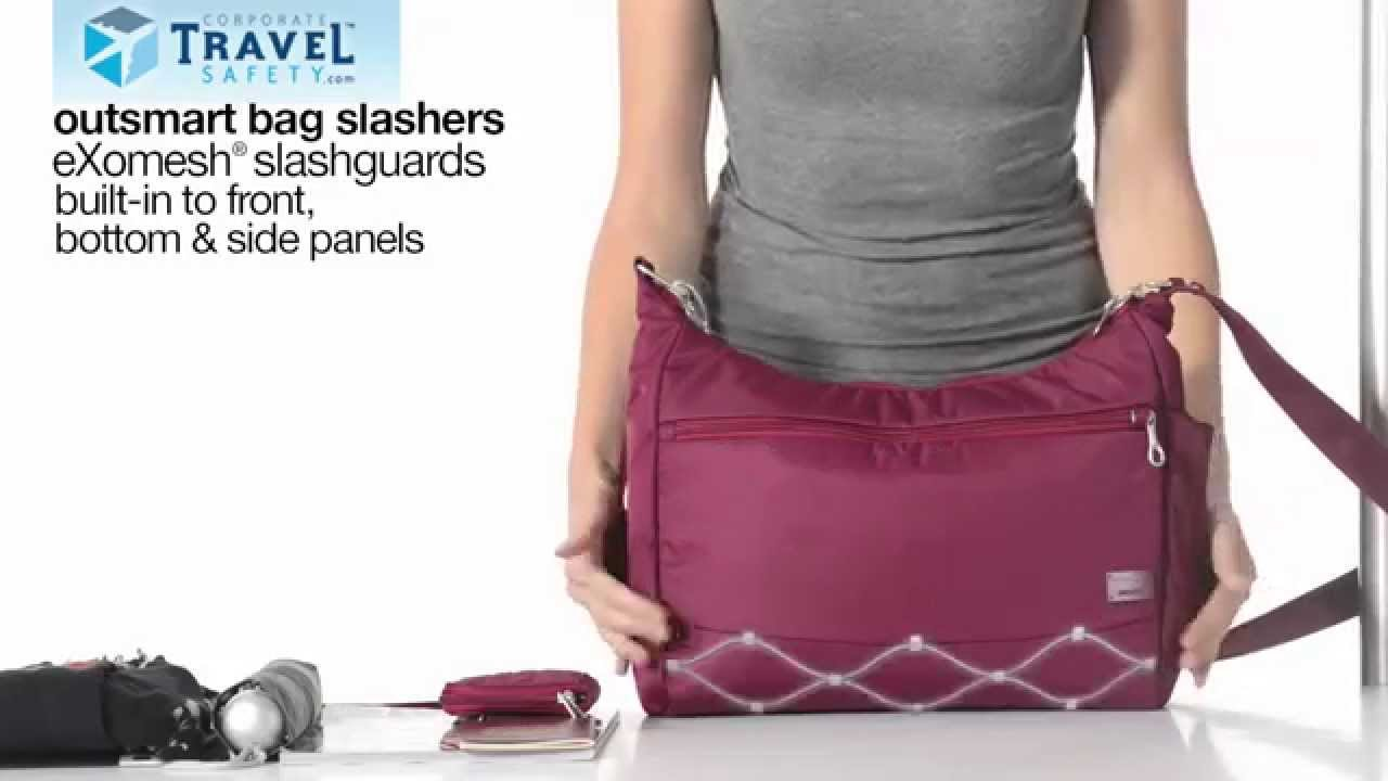cf6711b712cf CitySafe CS200 Anti-Theft Travel Handbag - YouTube