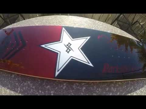 Custom painted Rockstar / Metal Mulisha Snowboard by Darkside-Projects