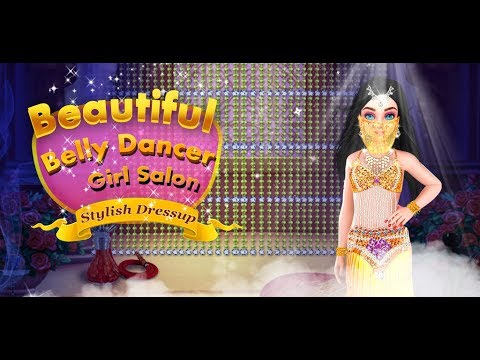 Beautiful Belly Dancer Girl Salon Stylish Dressup - Girls Games Gameplay Video By GameiCreate