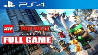 LEGO NINJAGO MOVIE VIDEOGAME FULL GAME Gameplay Walkthrough [PS4] No Commentary