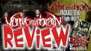 Review - VomitYourBrain - Beauty of Morgue Compilation - Rotten Music - Dani Zed