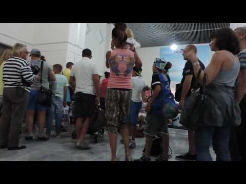 Крит. Ираклион. Аэропорт Nikos Kazantzakis 4 из 4