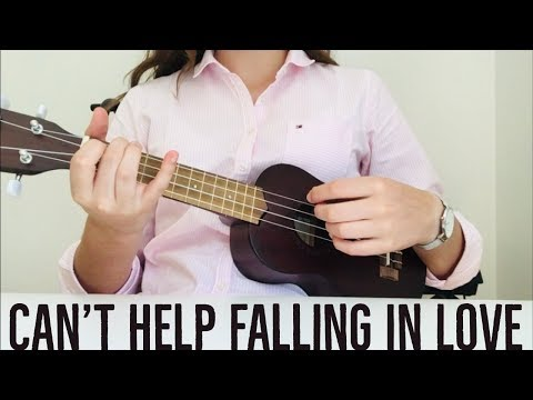 Elvis Presley - Can't Help Falling In Love (EASY Ukulele Tutorial)