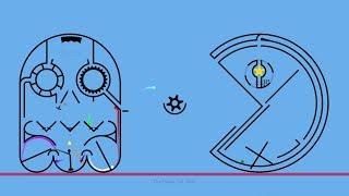 Pac-Man (rble) -Algodoo Marble Race