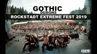 Gothic - Demons - Live at Rockstadt Extreme Fest 2019