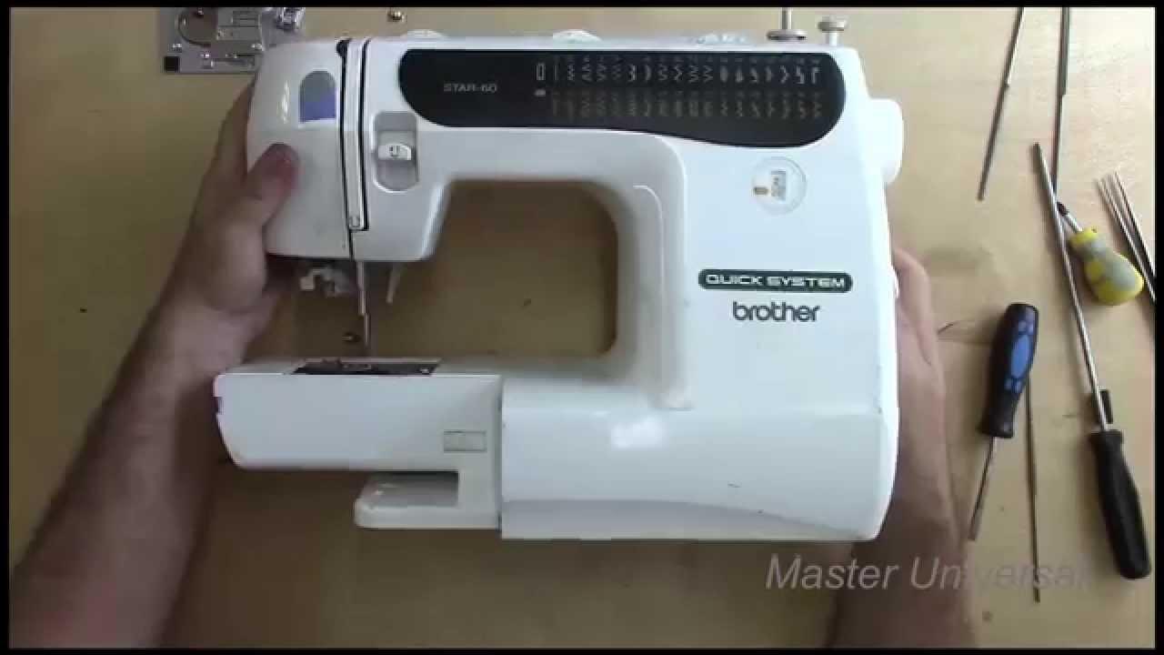 Инструкция по ремонту швейных машин brother