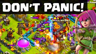 Clash of Clans - Don't PANIC - Keeping Your Cool in Clash - CoC