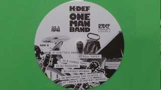 K-Def - Funky Fridays - One Man Band (2013)