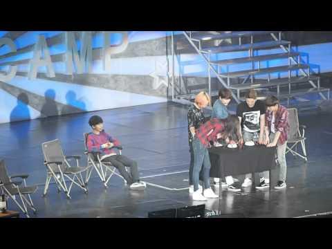 160305 Super Junior-SuperCamp in SH-Game1 測謊 Polygraph