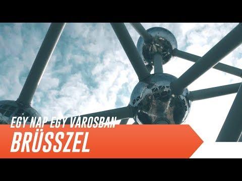 BRÜSSZEL EGY NAP ALATT | Egy nap egy városban [4K]