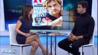 Javier Gomez interviewed by Tamsen Fadal on PIX 11 News at 5:00 p.m.