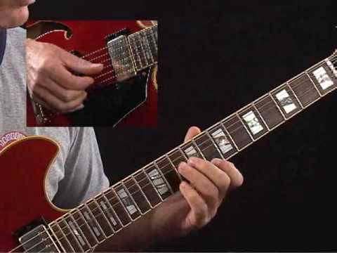 How to Play Guitar Like Wes Montgomery - C7(alt) Lick 1 - Jazz ...