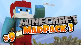 Minecraft: Mad Pack 3 - #9 FAIL DAL BOSS!