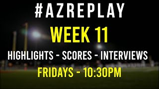 #AZREPLAY - Week 11 Arizona High School football highlights, scores & interviews