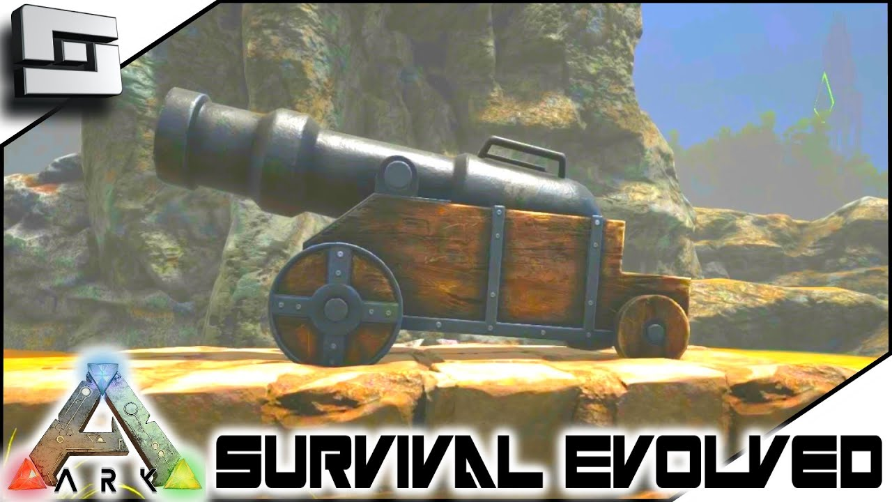 Cannon Ball - Official ARK: Survival Evolved Wiki