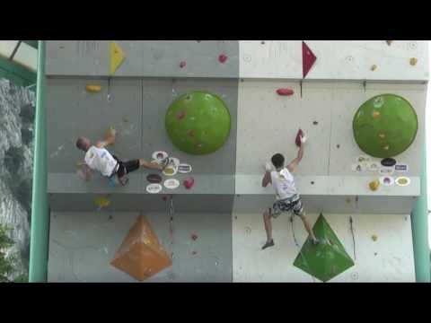Rock Master 2016, Duel, Max Rudigier vs Domen Skofic