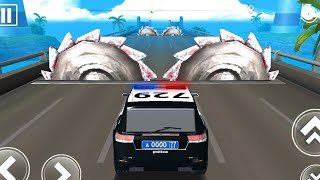 DEADLY RACE #2 POLICE Car Bumps Challenge 3d Gameplay Android IOS - Car Racing Games screenshot 4