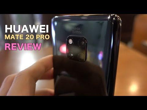 รีวิว Huawei Mate 20 Pro ( review ) กล้องเทพครบทุกระยะ ชิพ7นาโนเมตร   Q Taymee