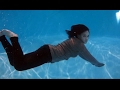 Terra POOL Underwater Jeans - Feet white Fetish girl HD clothes
