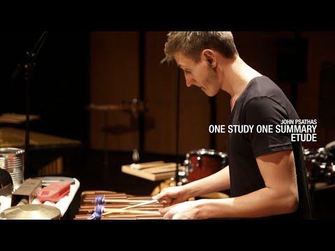 Alexej Gerassimez   John Psathas - One Study One Summary Etude