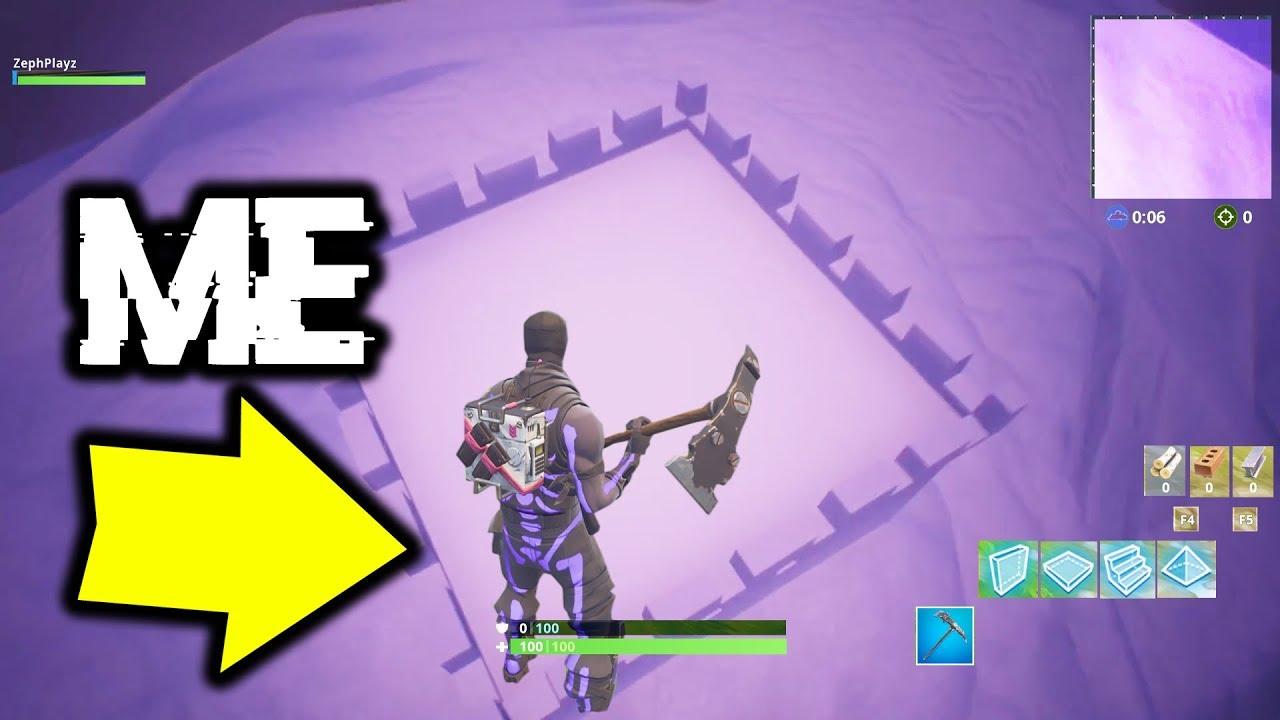I Went To The Iceberg In Fortnite Youtube