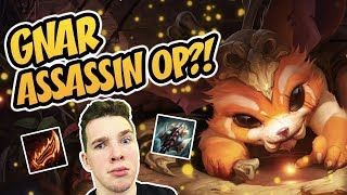 Level 3 GNAR is INSANELY OP – FULL WILD ASSASSINS INSANITY! | TFT Teamfight Tactics | LoL Auto Chess