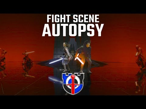 Fight Scene Autopsy: The Last Jedi Throne Room, Star Wars