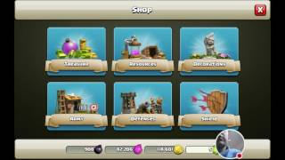 Clash of Clans full balloon attack