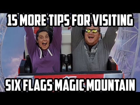 Top 15 Tips For Visiting Six Flags Magic Mountain (Awesome List)