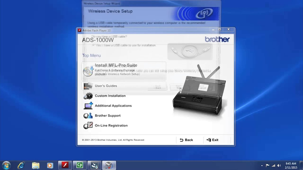 BROTHER ADS-1000W LAN DRIVER FOR PC