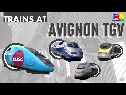 gare d 39 avignon tgv trains tgv youtube. Black Bedroom Furniture Sets. Home Design Ideas