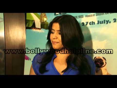 Interview Of Ekta Kapoor For Film 'Kya Super Kool Hai Hum'