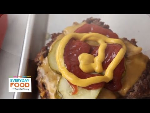 Old-Fashioned Cheeseburgers   Everyday Food With Sarah Carey