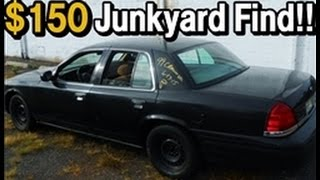 CROWN VICTORIA  (P71) JUNKYARD RESUCUE BUILD #1