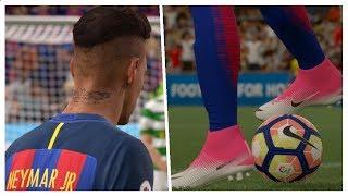 FIFA 17: NEYMAR JR. BEST SKILLS & GOALS 2017/2018 | Compilation Show - Pirelli7
