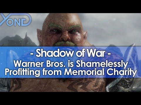 Warner Bros. is Shamelessly Profiting from Shadow of War Memorial Charity
