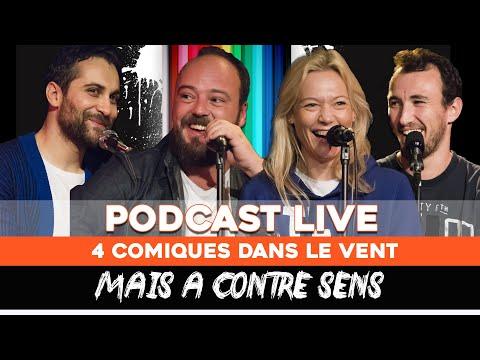 Ep 9 - Alban Ivanov, Caroline Vigneaux, Pierre Thevenoux, Seb Mellia - Podcast