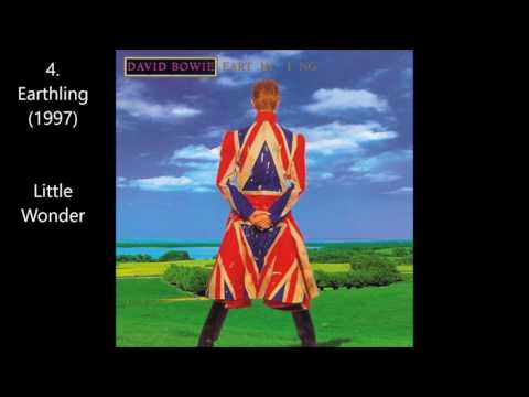 TOP 10 ALBUMS OF DAVID BOWIE (+3 best songs from these albums)