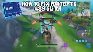 "How To ""FIX FORTBYTE #89"" In FORTNITE! - Make The Rings Appear! - ""EASY FORTBYTE GLITCH FIX!"""