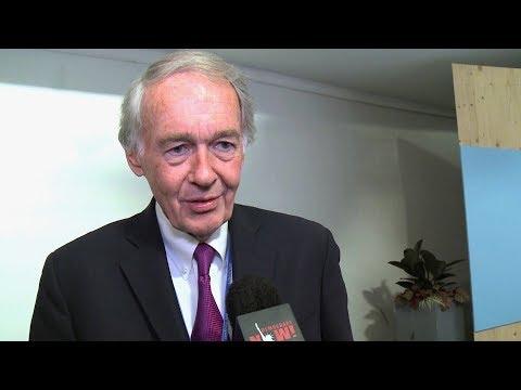 """We are Still In"": Sen. Markey & U.S. Lawmakers Stage Anti-Trump Revolt at UN Climate Talks in Bonn"