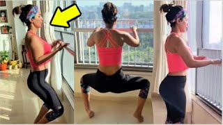 Baixar Hina Khan CRAZY A$$ Workout At Home In Lockdown