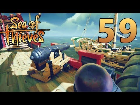 [59] True Piracy! Stealing Supplies To Sink A Galleon!!! (Sea Of Thieves Gameplay PC)