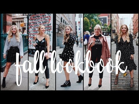 Fall Lookbook Volume #1 I  SoHo I  September 2017 🍂