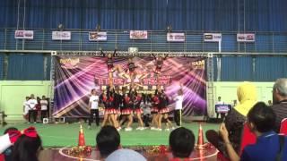 BLAZE Cheerleader SMAN 48 jakarta at TATNCC2015 Bandung